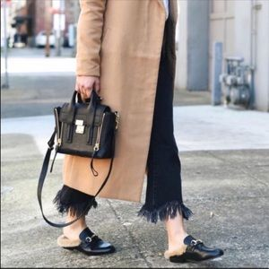 A New Day Rebe Backless Loafer Mules Black 8.5